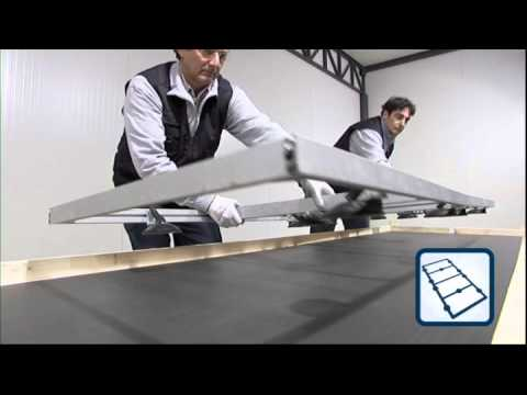 Kerlite movimentazione lastre 300x100 cm youtube - Piastrelle spessore 3 mm ...