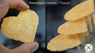 Parmesan Crisps / Tuile – Bruno Albouze – The Real Deal