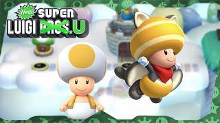 New Super Luigi U Deluxe ᴴᴰ   World 7 (All Star Coins) Solo Toad