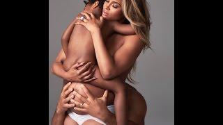 Ciara Takes a Nude Family Photo - David Blaze