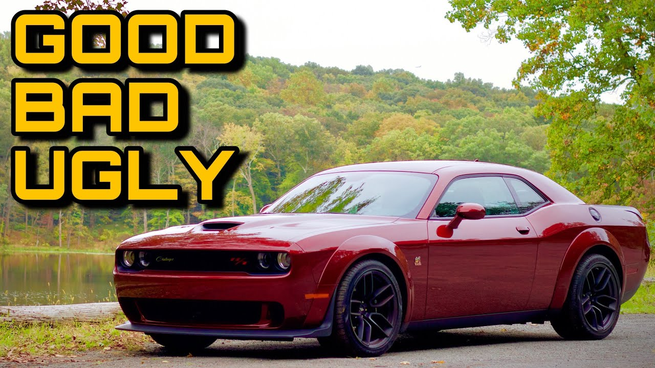 2019 Widebody Dodge Challenger R T Scat Pack Review The Good The