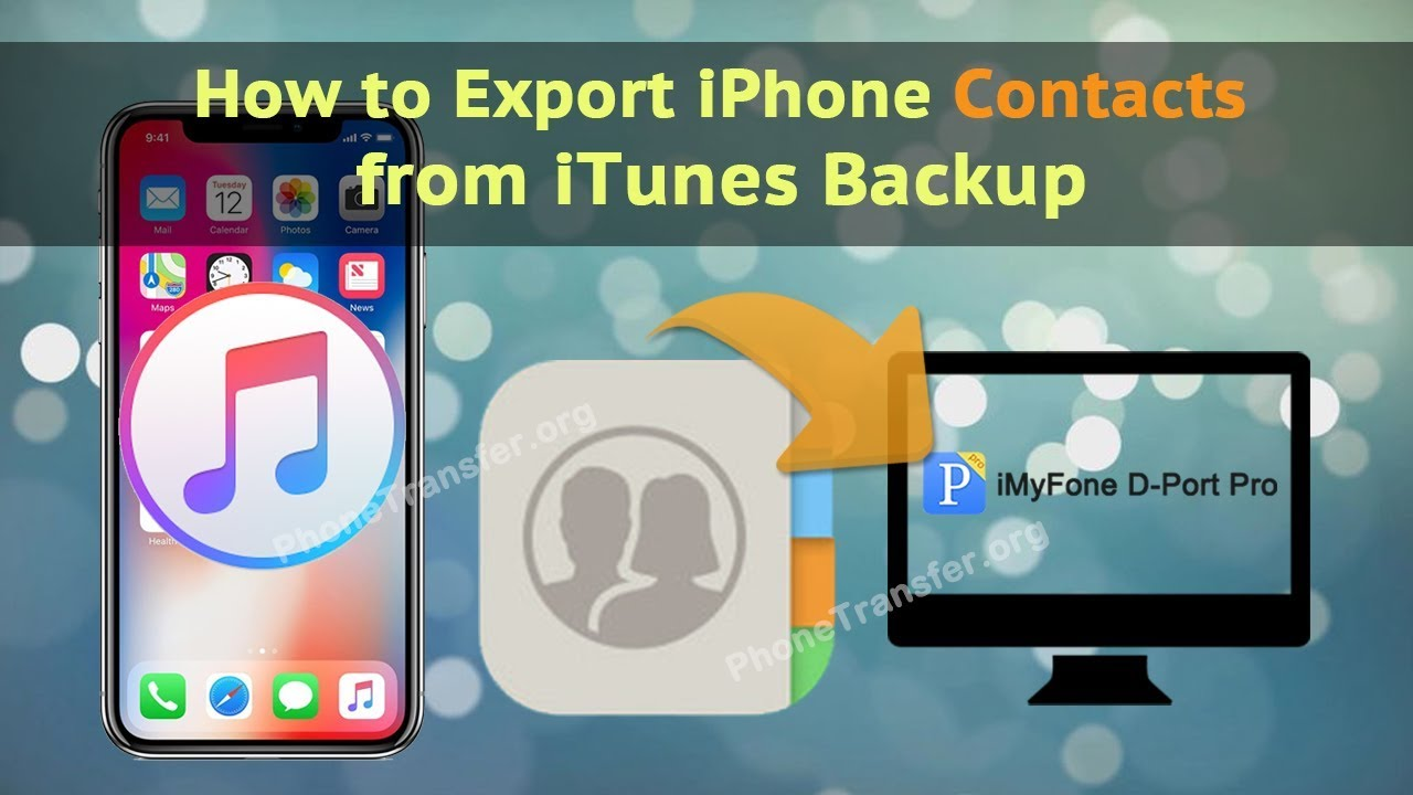 how to backup contacts on iphone how to export iphone contacts from itunes backup 18572