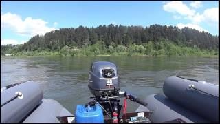 видео лодка абакан 430