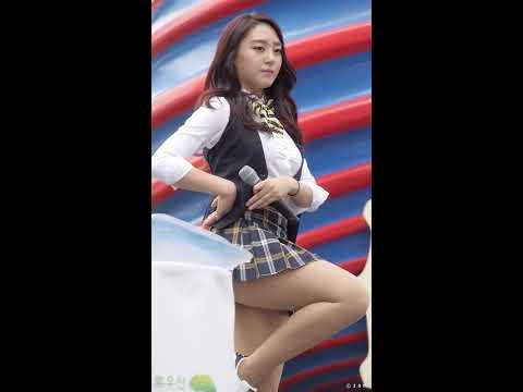 151004 케이걸즈 K-Girls 해나 - FLY HIGH (초록우산천사데이기념행사 청계광장) 직캠 fancam by zam