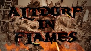 Skaven vs Empire Warhamer Skirmish Battle Report - Altdorf in Flames Ep 03A