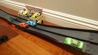 Disney Pixar Cars Piston Cup 500 Track Set Playset - Toys R US Only Race Set for Mattel Diecast Cars