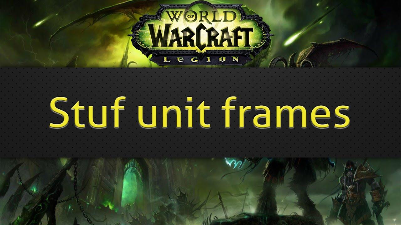 Wow Best Unit Frames 2020 Stuf unit frames (WoW addon)   YouTube