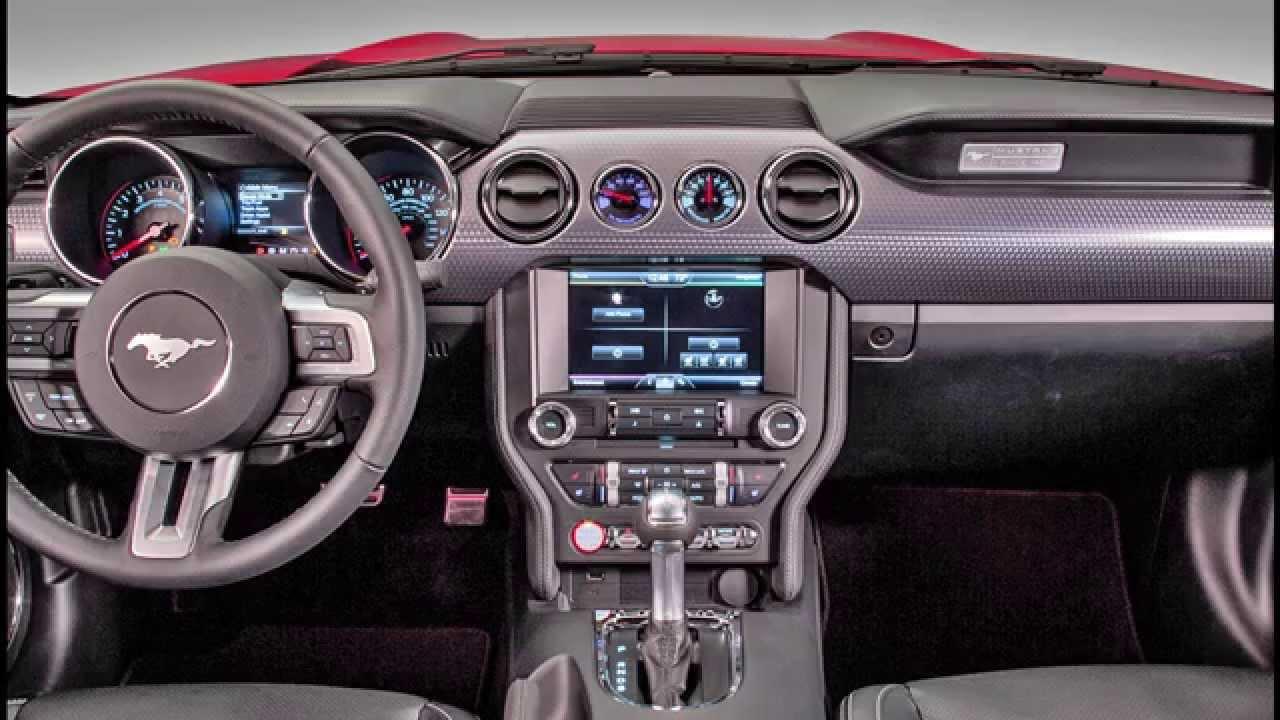 Ford Mustang Gli Interni Youtube