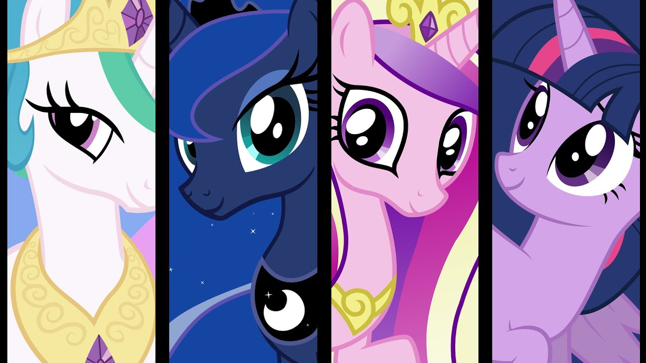 Your Top Four Princesses In MLP? - FiM Show Discussion - MLP Forums