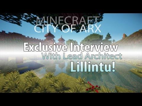 Exclusive Interview w/ Lead Architect Lillintu! - City of Arx - Minecraft Mega Build