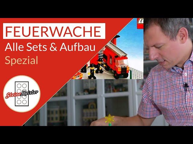Spezial: Alle Feuerwehrwachen der Lego(R) City & Aufbau der winterlichen Feuerwache (10263)