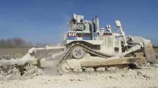 Caterpillar D10T for soil stabilization