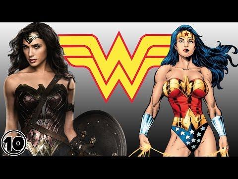 Top 10 Wonder Woman Surprising Facts