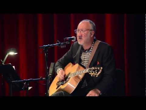 The Who's Pete Townshend live 2012 solo performance at Berklee: