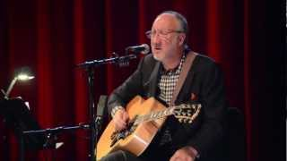 The Who s Pete Townshend live 2012 solo performance at BerkleeWon t Get Fooled Again