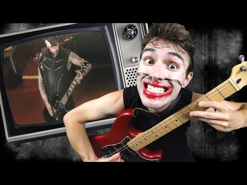 How To Play Guitar Like Marilyn Manson!
