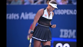 Naomi Osaka vs Coco Gauff | US Open 2019 R3 Highlights