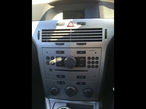 Astra mk5 2004 -2010 radio removal & dab refit guide + part