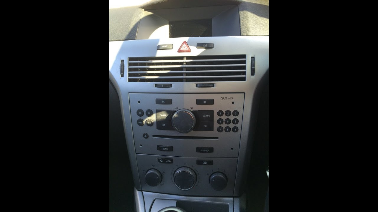 Astra Mk5 2004 2010 Radio Removal Amp Dab Refit Guide