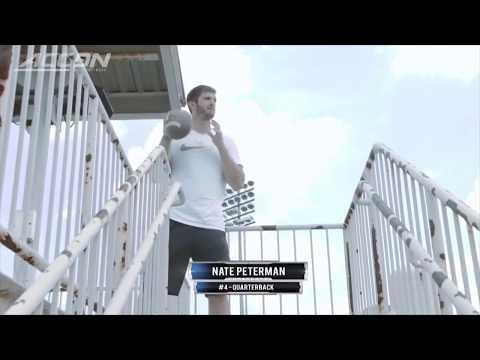Nate Peterman amazing trick shot