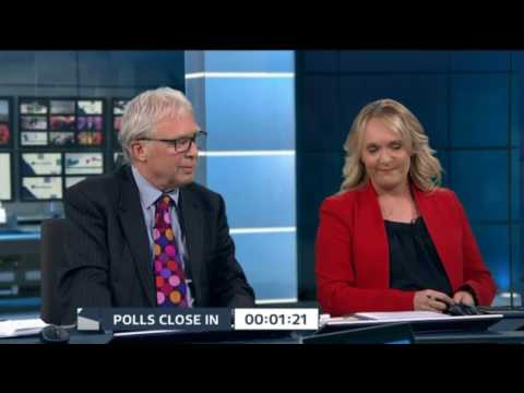 ITV News Election 2017 Live ( Opening + Exit Poll ) - June 8th 2017