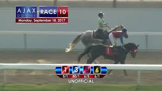 Ajax Downs 09 18 17 Race 10