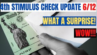 HUGE Fourth Stimulus Check Update (Surprise Good News)