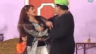 Nasir Chinyoti | Ayesha Chaudhry | Naseem Vicky - Comedy Stage Drama Clip