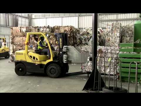 Waste Management Single-Stream Recycling: Take A Tour Of Our Philadelphia MRF