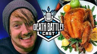 Thanksgiving Food Tier! | DEATH BATTLE Cast #155