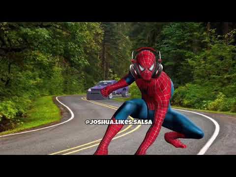 Thanos Car kills spiderman - YouTube