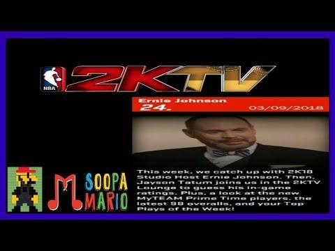NBA 2K18 2KTV Interactive Answers Episode 24