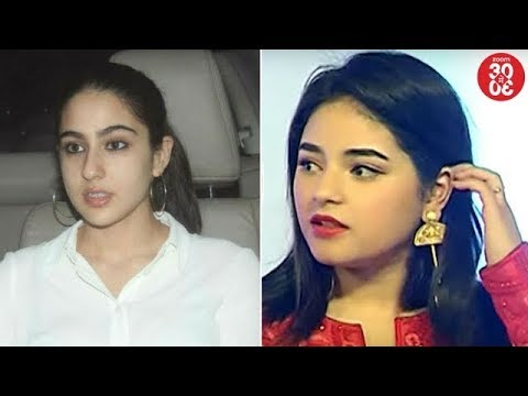 Ekta Kapoor Unhappy With Sara Ali Khan | Zaira Wasim Avoids Talking About Her Molestation Incident
