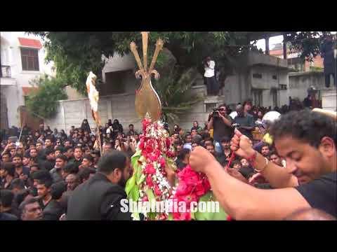 8th Muharram Hussaini Kothi Juloos Procession 1439-2017-18