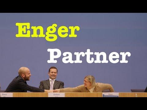 1. November 2017 - Komplette Bundespressekonferenz