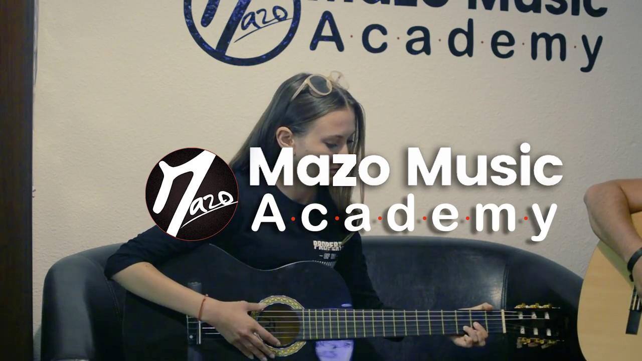 Cosmina Patranoiu - Doar Pe A Ta - LIVE (Mazo Music Academy)