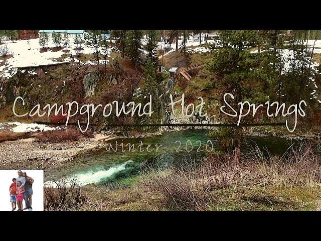 Campground or Dead Man Hot Springs, Garden Valley Idaho.