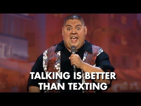 Talking Is Better Than Texting   Gabriel Iglesias