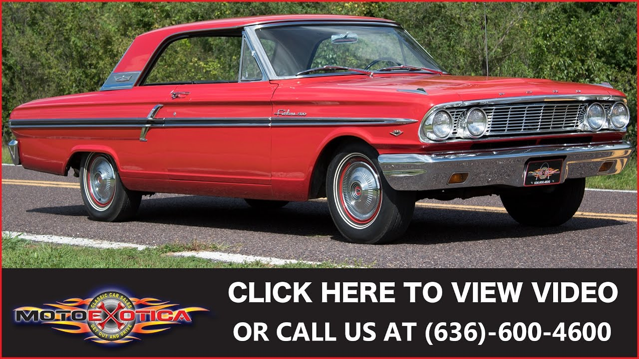 1964 ford fairlane 500 289 sold