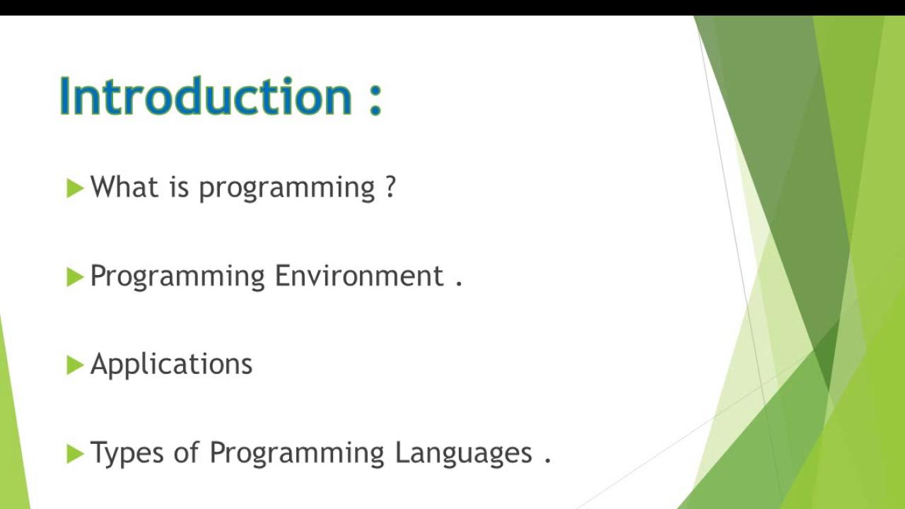 شرح لغة السي بلس بلس C Programmingالبرمجة للمبتدئين