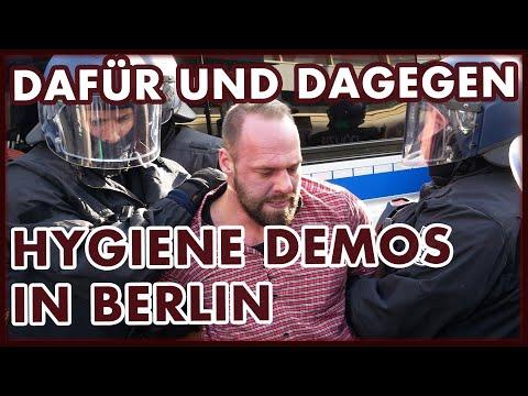 Dafür und Dagegen: Hygiene Demos in Berlin | #Corona-Maßnahmen