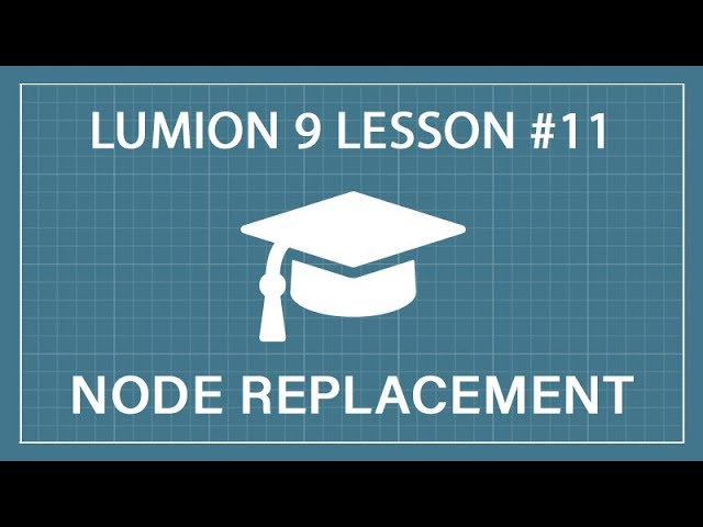 How to use Nodes for Mass Placement: Lumion 9 - 3D Render Tutorial