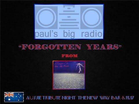"""Paul's Big Radio: """"Forgotten Years"""" Aussie Tribute Night New Way Bar 3.11.17"""