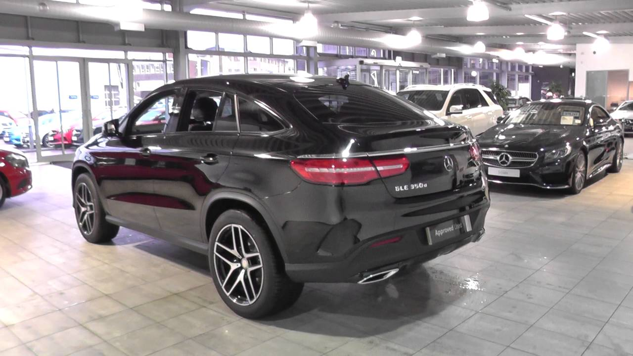 mercedes benz gle coupe gle 350 d 4matic amg line u44849 youtube. Black Bedroom Furniture Sets. Home Design Ideas