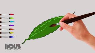 Lets draw Bitter Gourd
