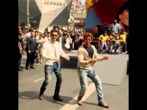 Karan Tacker and Hrithik Roshan dancing! IIFA 2015