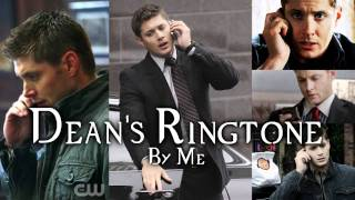 Dean Winchester Ringtone (Supernatural Tv Show cover by me)