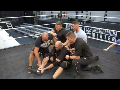 Braun Strowman blindsides Tyson Fury at WWE Performance Center | New WWE