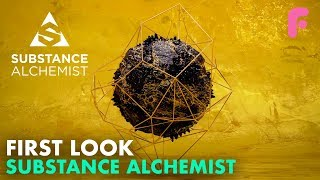 First Look at Substance Alchemist
