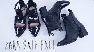 Zara Sale Haul Thumbnail